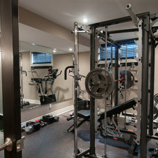 Home Gym by Just Basements