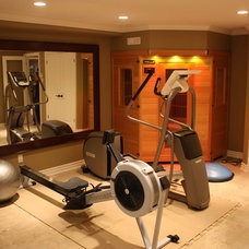 Traditional Home Gym by CCR Building and Remodelling