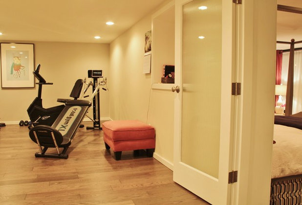 Craftsman Home Gym by Kimberley Bryan