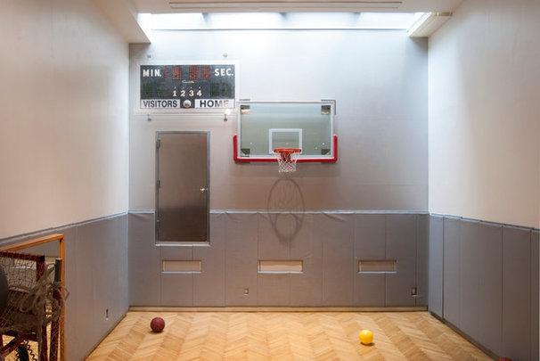 Contemporary Home Gym by Adrienne DeRosa