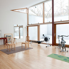 Contemporary Home Gym by Mary Prince Photography