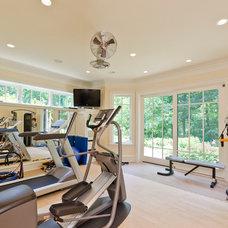 Contemporary Home Gym by RAHokanson Photography