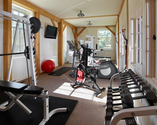 Home Weight Room Design Ideas Renovations Photos With