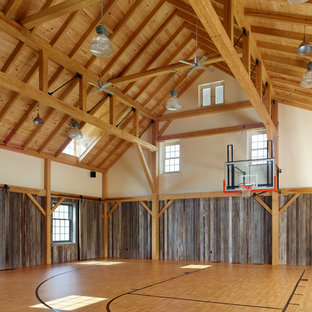 Inspiration for a country indoor sports court in Philadelphia.