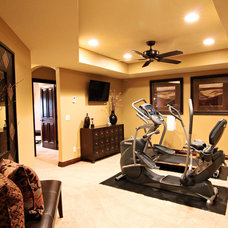 Traditional Home Gym by DEICHMAN CONSTRUCTION