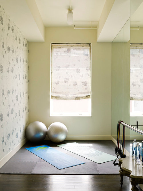 Good Home Yoga Studio Design Ideas Pictures Remodel Uamp Decor With Dark  With Yoga Room Ideas.