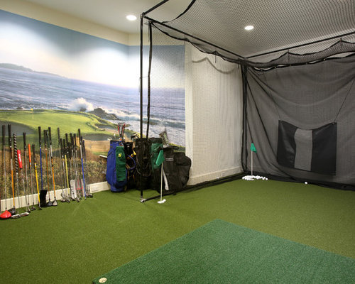 indoor turf batting cage home design ideas pictures remodel and