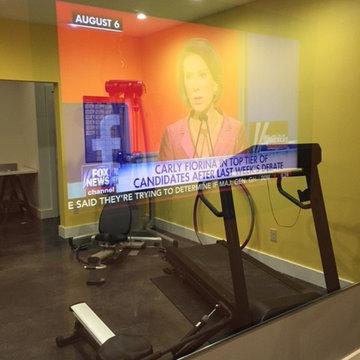 Northshore - Transparent Mirror - Home Gym