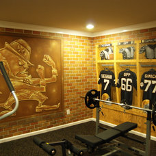 Traditional Home Gym by Wow Effects-Murals and Fine Art
