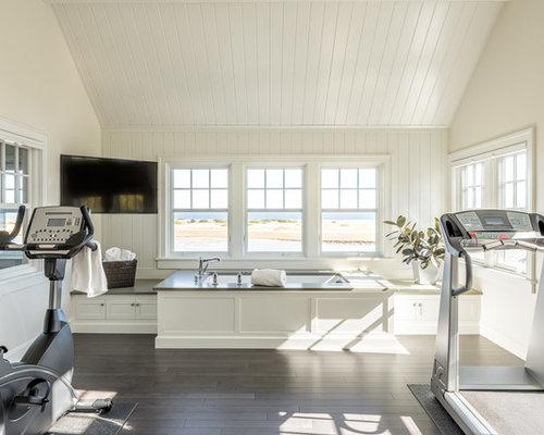 Home gym design ideas renovations photos