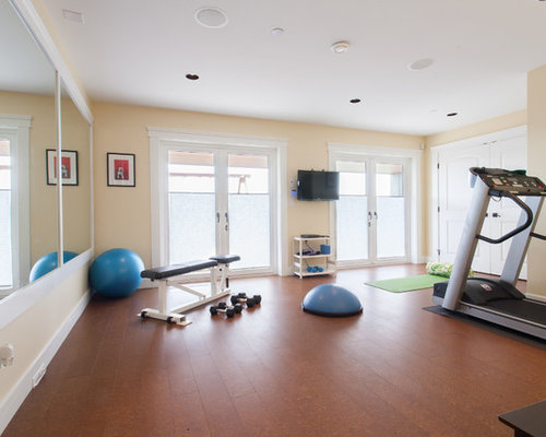 Exercise room houzz