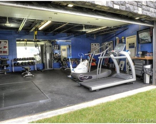 Garage gym houzz