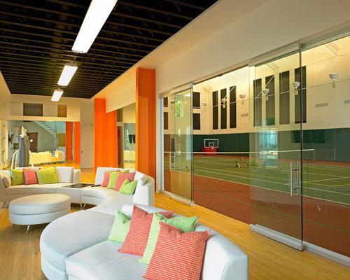 Indoor Tennis Court | Houzz