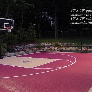 Outdoor Half Court Gamecourts