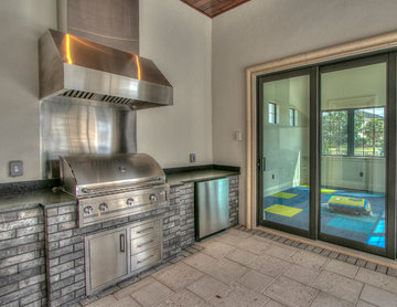 Outdoor Kitchen and Home Gym