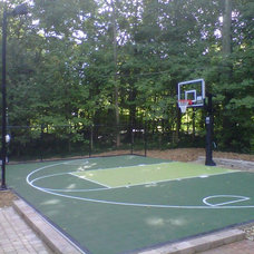 Traditional Home Gym by Sport Court Midwest