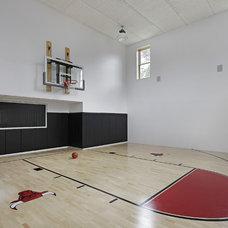Contemporary Home Gym by Oxford Development