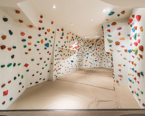 Our 11 Best Contemporary Home Climbing Wall Ideas & Remodeling