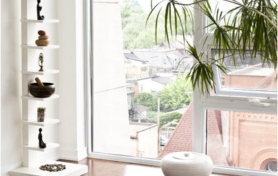 Sink Into a Home Yoga Practice Space