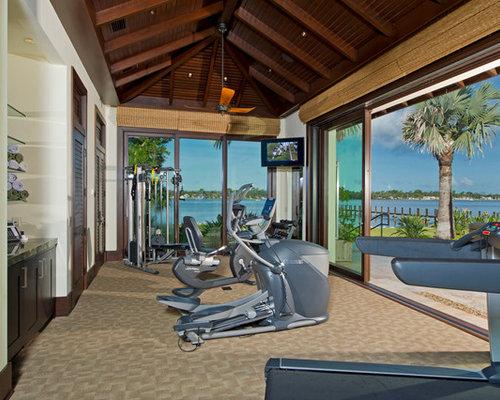 Kolonialstil fitnessraum ideen f r ihr home gym for Boden fitnessraum