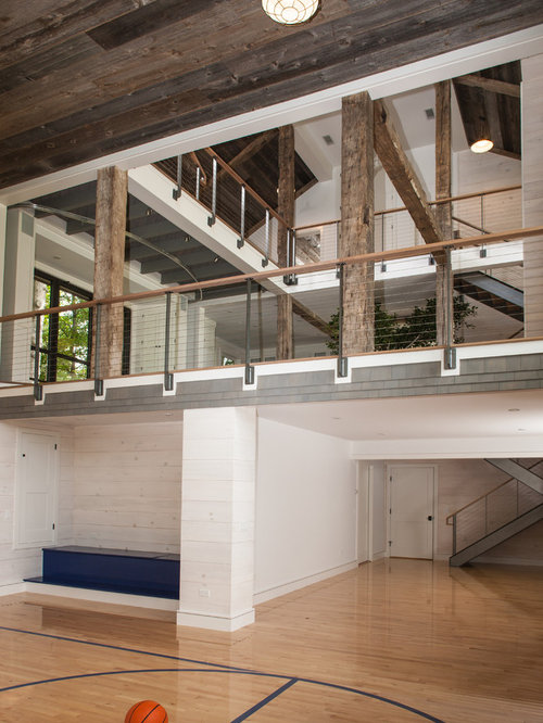 Loft gym houzz