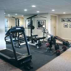 Traditional Home Gym by Assyrian Star Construction Inc