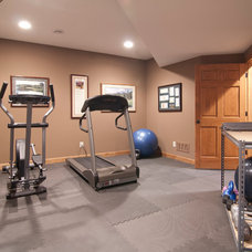 Traditional Home Gym by College City Design Build
