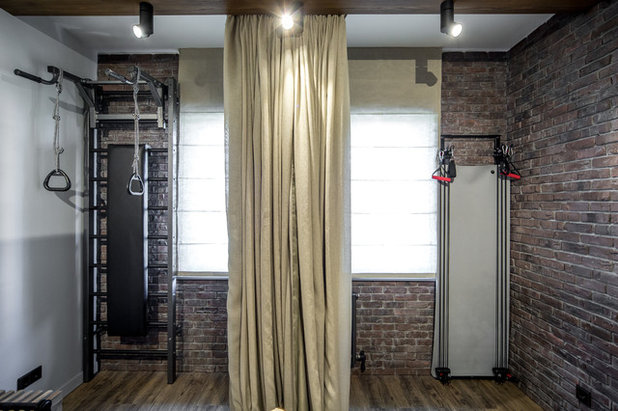 Industrial Home Gym by Special-style