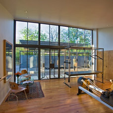 Modern Home Gym by Susan Appleton Architect