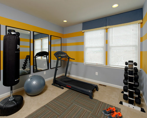 Small Koi Food Home Gym Design Ideas Renovations Photos