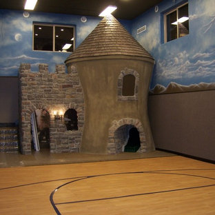 Play Castle in Home Gym