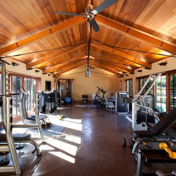 Pool House in Woodside