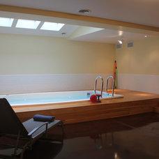 Contemporary Home Gym by Poulsen Enterprises Inc