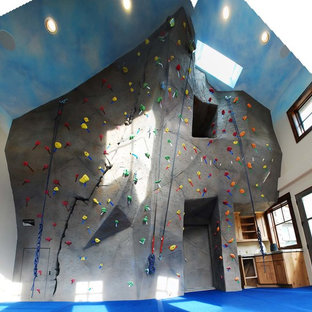 Private Home Climbing Wall in Evergreen, CO