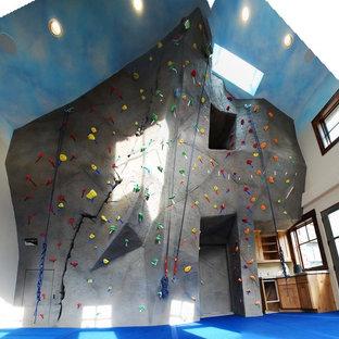 Idee per una parete da arrampicata eclettica