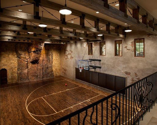 Rustic phoenix home gym design ideas pictures remodel