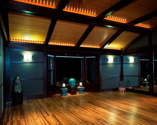 Yoga room houzz