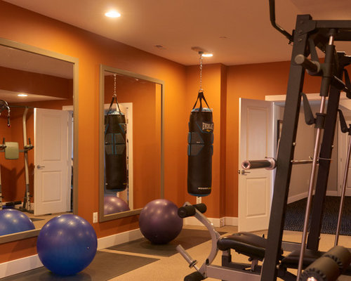 Home Gym Design Ideas, Pictures, Remodel & Decor with ...