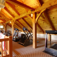 Traditional Home Gym by Pinemar, Inc