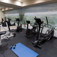 Traditional Home Gym by Tath Hossfeld Designs