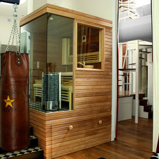 Eclectic Home Gym by All Done Design