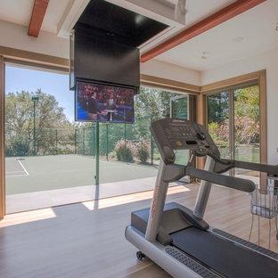 Remodel addition: Gym, tennis court, bar