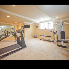 Traditional Home Gym by Barenz Builders