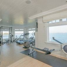 Traditional Home Gym by Val Florio AIA Architect