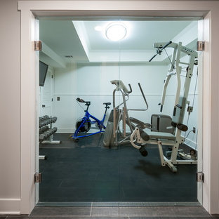 75 most popular eclectic atlanta home gym design ideas for 2019