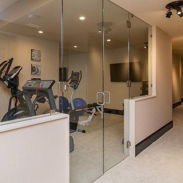 Rumson Luxury Estate Home Gym