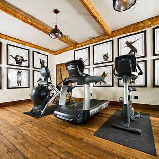 Rustic Home Gym