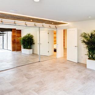 Home gym - modern home gym idea in Salt Lake City