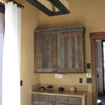 Rustic Mountain Pool House