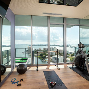 Sarasota Vue Penthouse Build-Out Home Gym